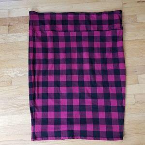 Torrid Plaid Pencil Skirt